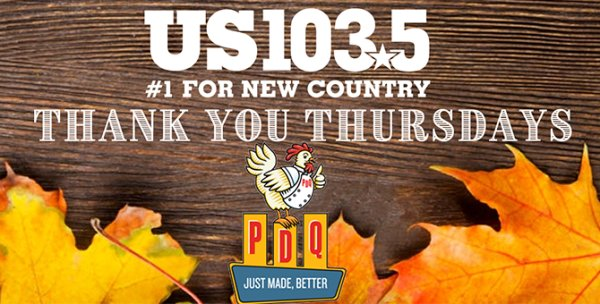 None - Thank You Thursdays with PDQ and US1035