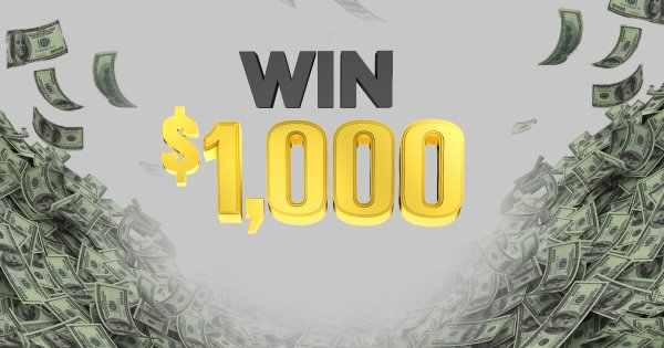 None - Win $1000 with our $16K Workday