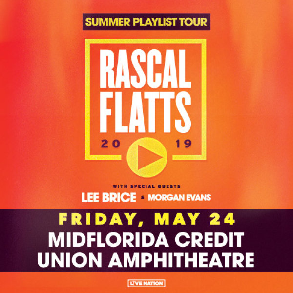 None - Win tickets to see Rascal Flatts in Tampa