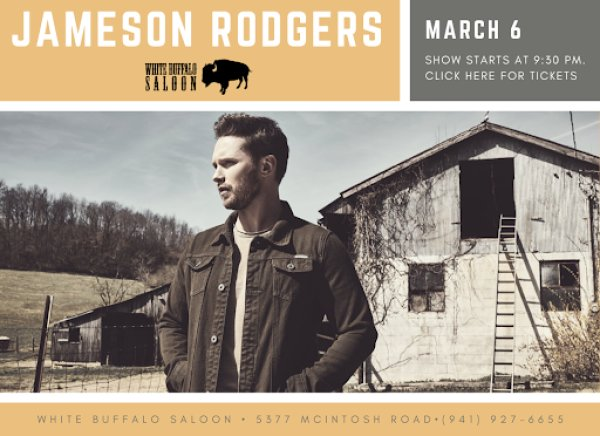 image for Win Tickets to see Jameson Rodgers!