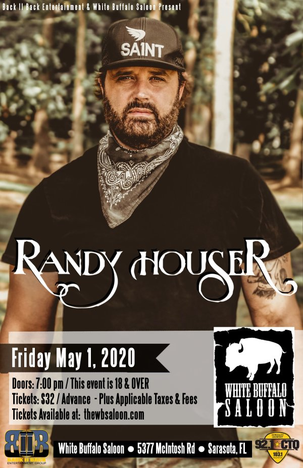 image for  Randy Houser at White Buffalo Saloon