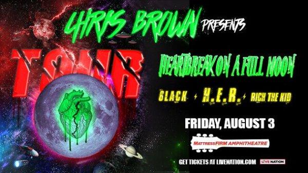 Win Chris Brown Tickets