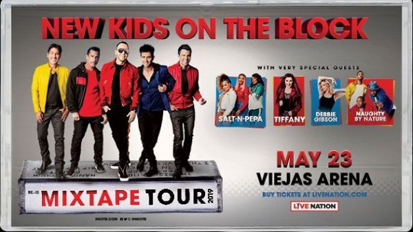 None -  Win New Kids On The Block: The MixTape Tour Tickets