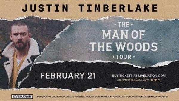None - Win Justin Timberlake Tickets