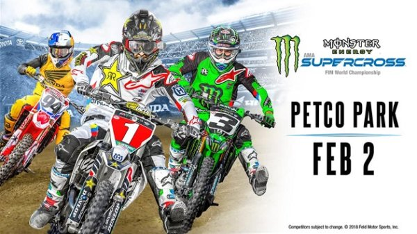 None - Win Monster Energy AMA Supercross Tickets