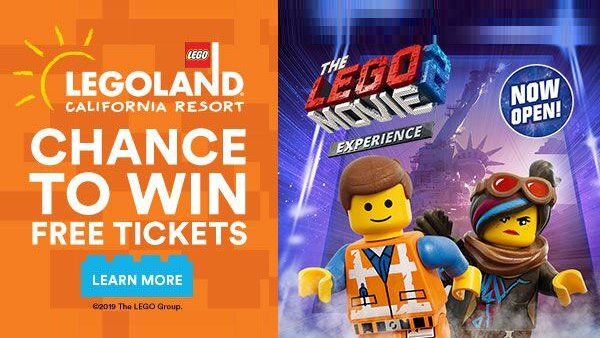 None - Win LEGOLAND California Resort Tickets