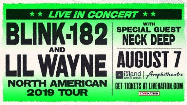 None - Win blink-182 + Lil Wayne Tickets