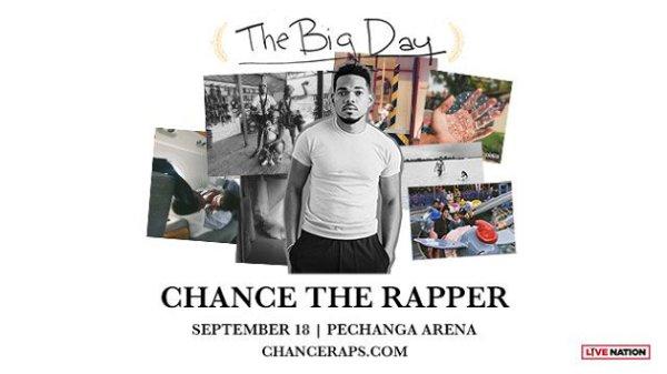 None - Win Chance the Rapper Tickets