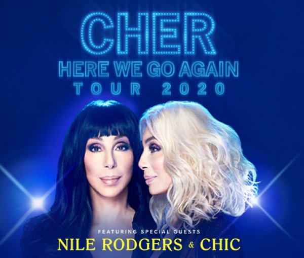 None - Cher: Here We Go Again Tour 2020 Giveaway!