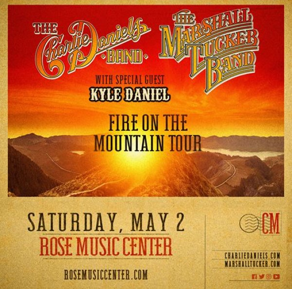 None - The Charlie Daniels Band and The Marshall Tucker Band Giveaway