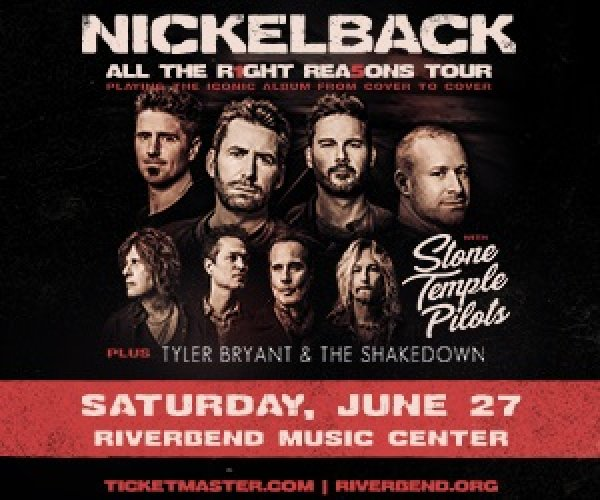 image for  Nickelback Summer Tour