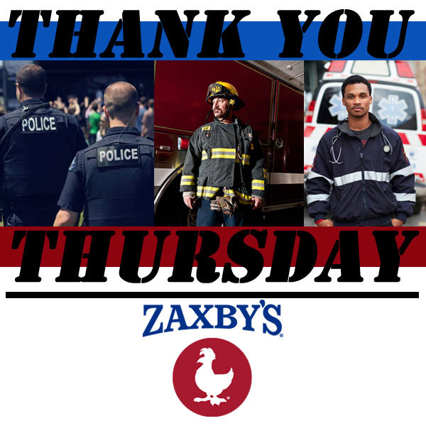 None - Thank You Thursday for local First Responders