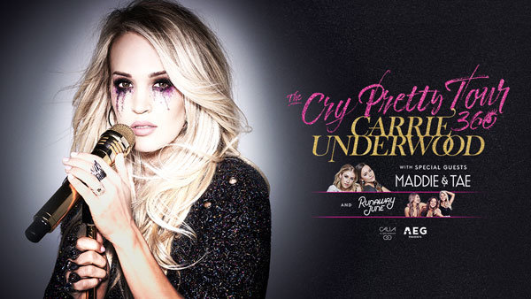 None - Win tickets to see Carrie Underwood 9/25/2019