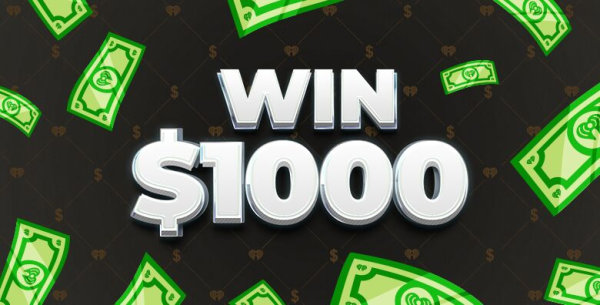 None - Win $1000 Every Hour!! Weekdays From 5am-8pm
