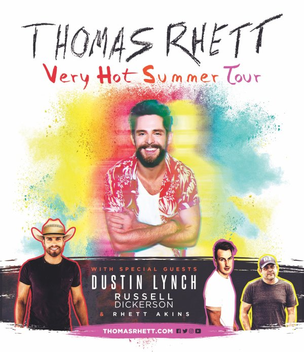 None - Enter to win a pair of tickets to Thomas Rhett on June 14th at PNC Music Pavillion!