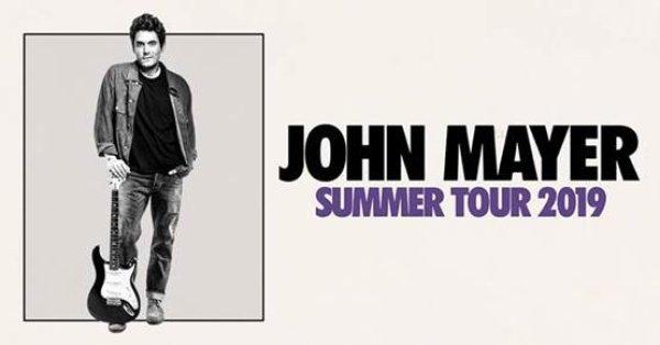 None - Win John Mayer Tickets!