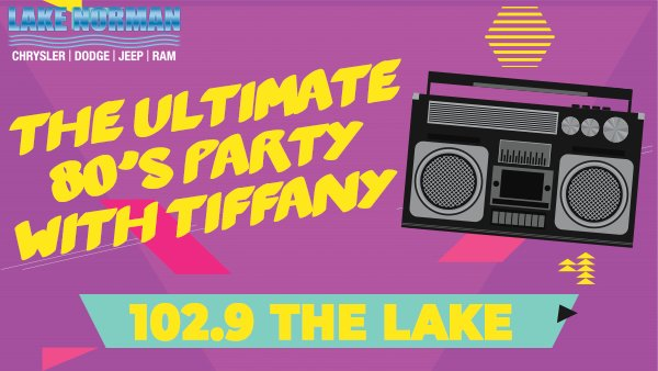 None - Win Tickets to The Ultimate 80's Party with Tiffany!