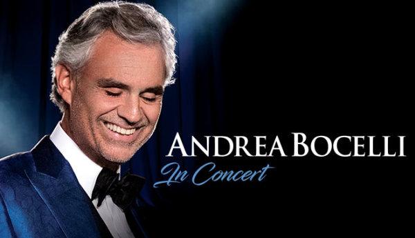 None - Win Andrea Bocelli Tickets!