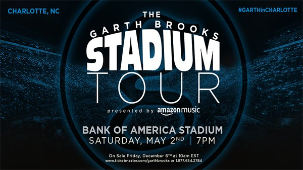 None - Win Garth Brooks Tickets!