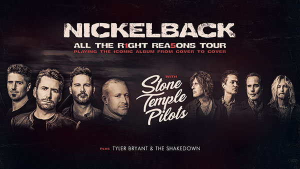 None - Win Nickelback Tickets!
