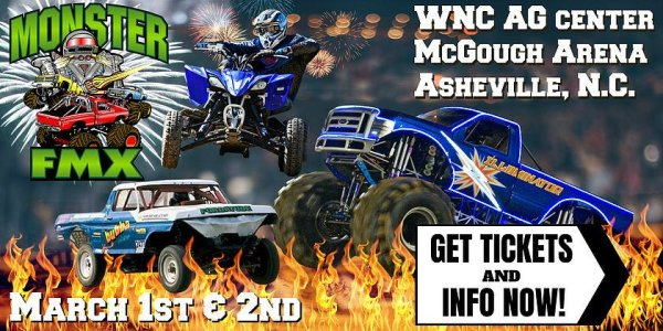 None - Win Monster FMX tickets!