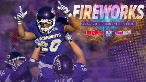 None - Win Tickets: WCU Home Opener August 31
