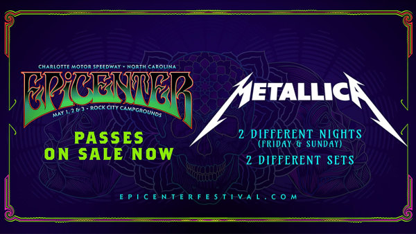None - Win tickets to Epicenter Music Festival 2020!