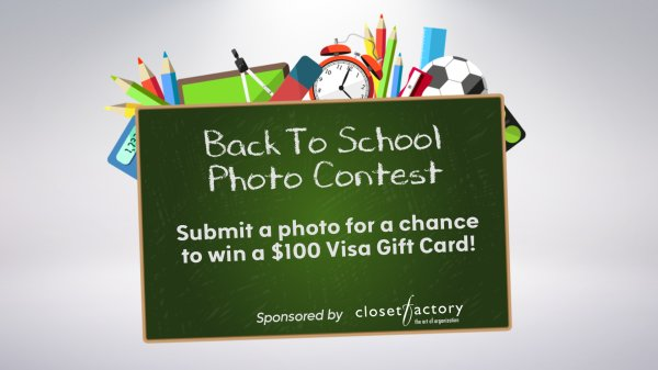 Woodson On Why Kindergarten Is Too Late >> Back To School Photo Sweepstakes