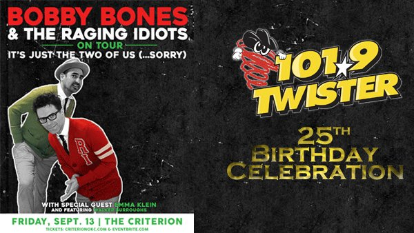 None - Bobby Bones and The Raging Idiots - Twister 25th Birthday Celebration