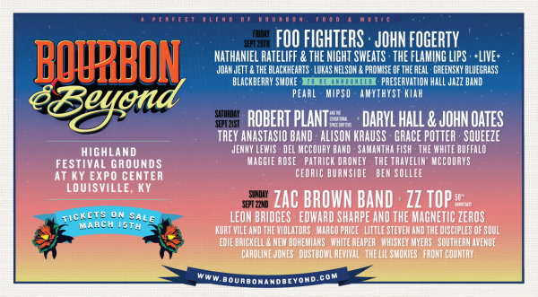 None - Listen to Win Bourbon & Beyond Tickets!