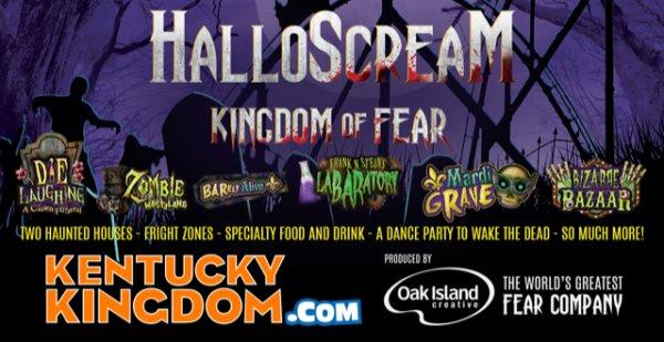 None - Win Tickets to Kentucky Kingdom's HalloScream!