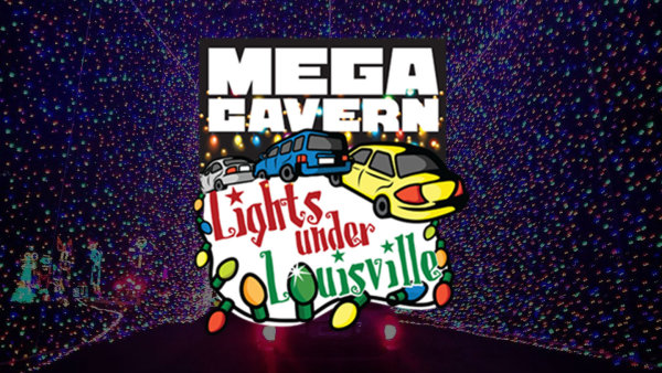 None - Win Tickets to Mega Cavern's Lights Under Louisville!