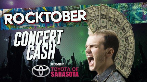 None - Win $1,000 in Concert Cash