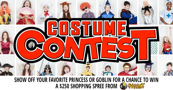 photo with the most votes at midnight on 101418 will receive a 250 shopping spree to spirit halloween in biloxi ms