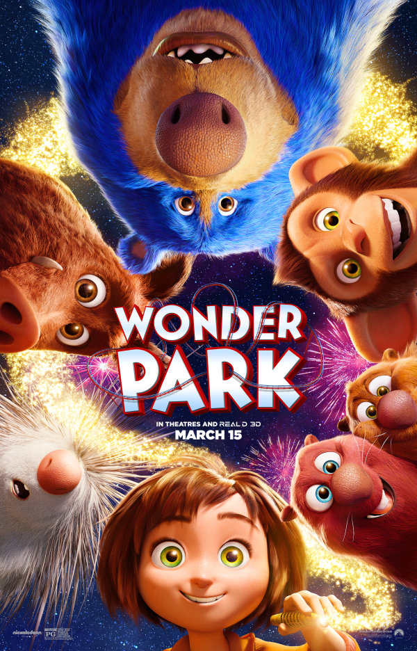 None - Enter to win a family four pack to an advance screening of WONDER PARK!