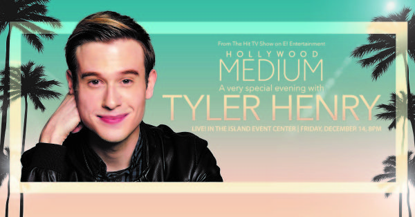 None - Win tickets to Tyler Henry!
