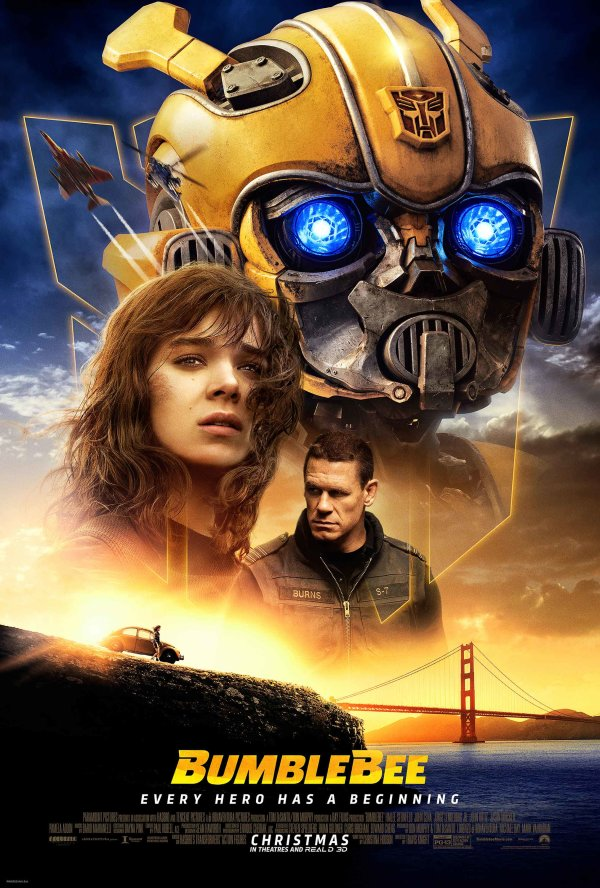 None - Enter to win advanced screening passes to see BUMBLEBEE!