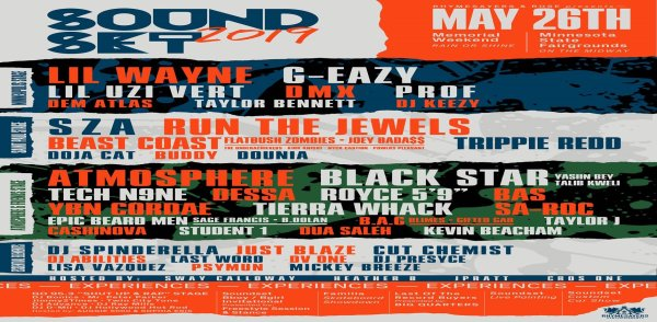 None - Win tickets to Soundset!