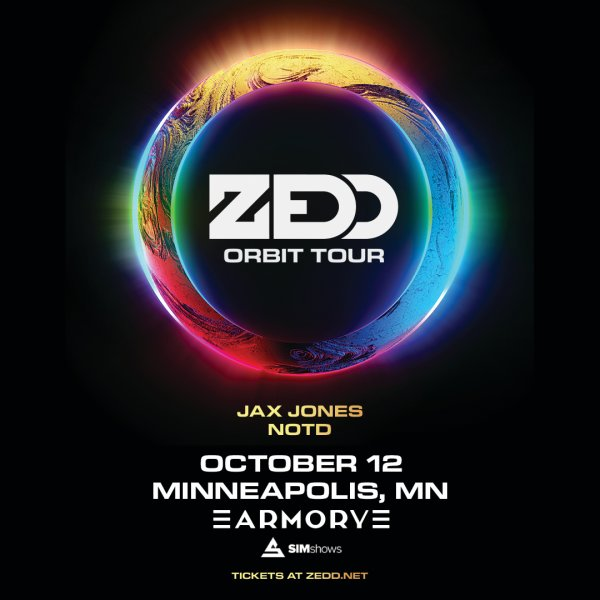 None - Enter to win tickets to see ZEDD at the Armory!