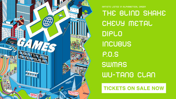 None - Enter to win tickets to the X Games!