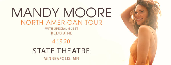 None - Enter to win tickets to see Mandy Moore at the State Theatre