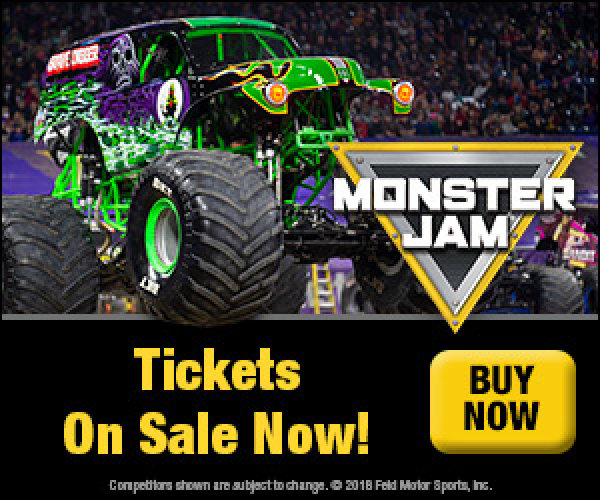 None - Enter to win a family 4 pack to Monster Jam!