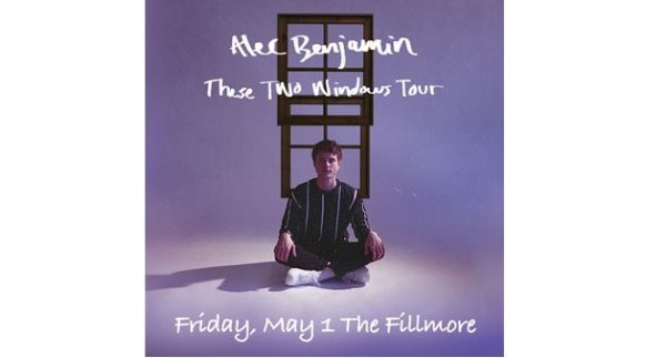 None - Enter to win a pair of tickets to see Alec Benjamin!