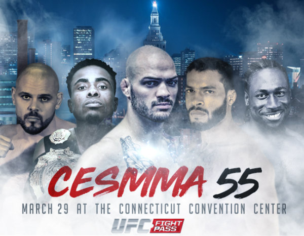 None - Enter to win a pair of tickets to CES MMA 55 at the Convention Center on Friday, March 29th!