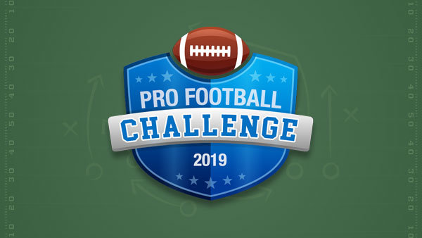 None - Pro Football Challenge 2019