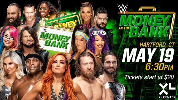 None - WWE Money In The Bank at the XL Center