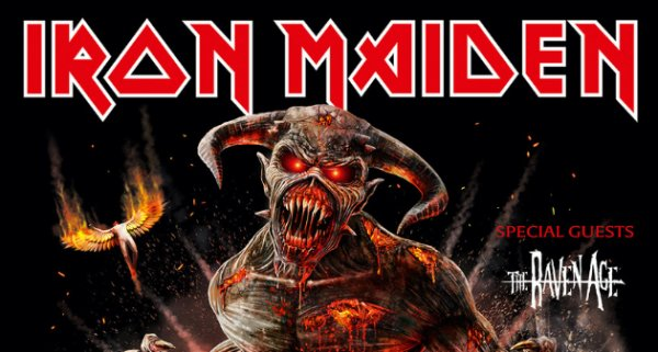 None - Win tickets to Iron Maiden!