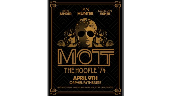 None - Win tickets to Mott The Hoople '74