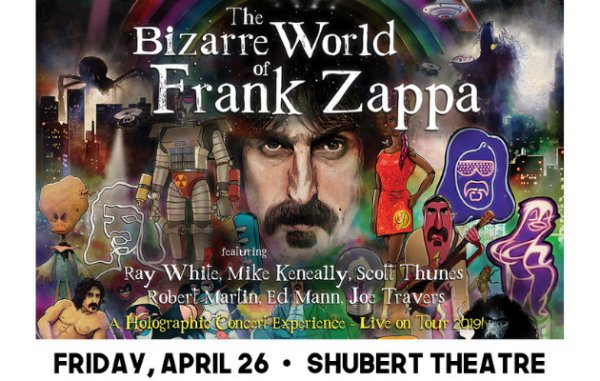 None - Win tickets to The Bizarre World Of Frank Zappa