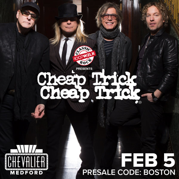 None - Win tickets to see Cheap Trick